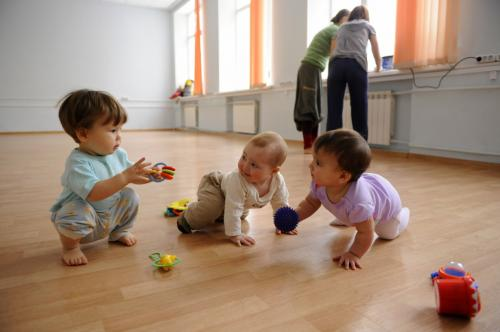 Baby play trio